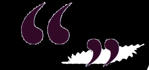 Guillemets violets ©Engagées - Féminisme
