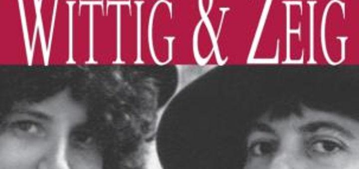 Détail de la couverture Monique Wittig, Sande Zeig, Brouillon pour un dictionnaire des amantes, Grasset, Paris, [1976], 2011.