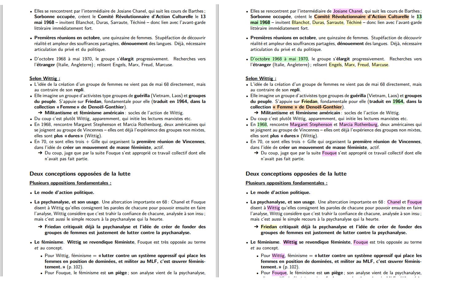 Ficher - Exemple couleurs ou non
