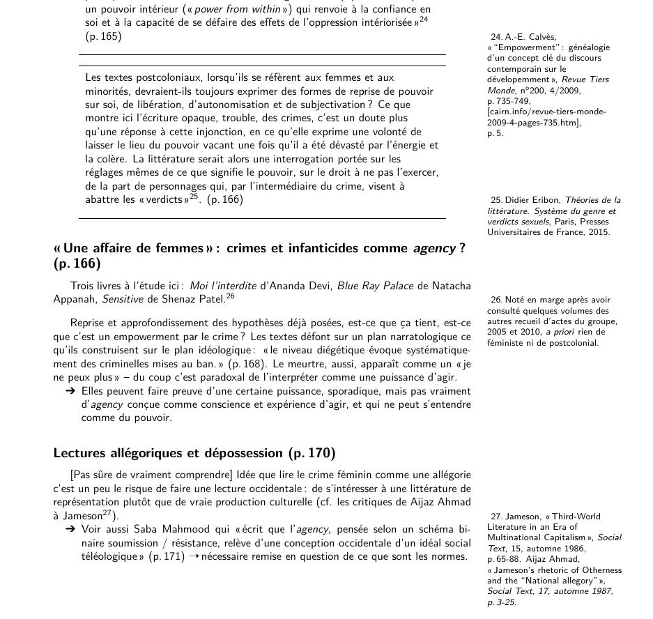 Ficher - Exemple de notes en marge